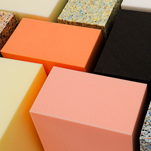 coloured packing foam