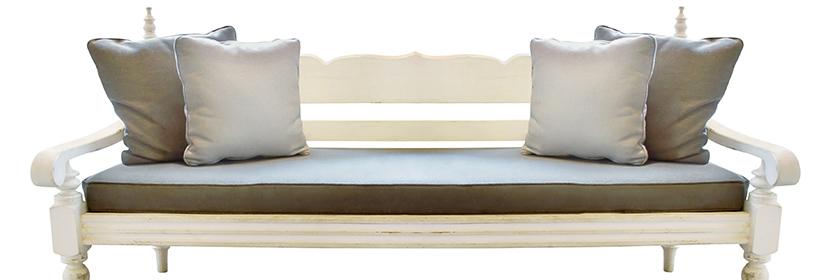 bench cushions foam