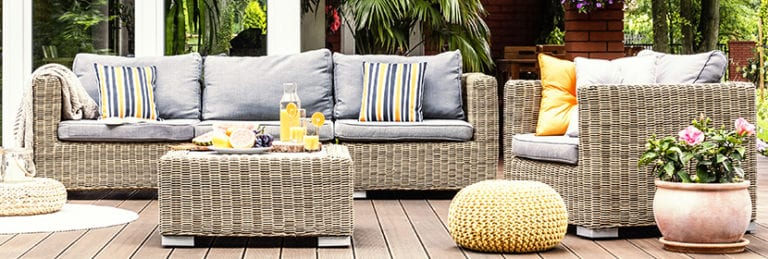 outdoor cushions foam